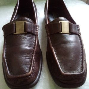 Brown Leather Loafer 7.5